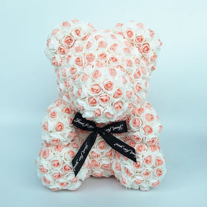 Rose Teddy Bear