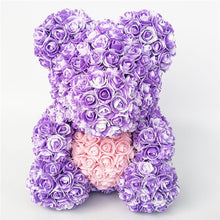 Load image into Gallery viewer, Rose Teddy Bear