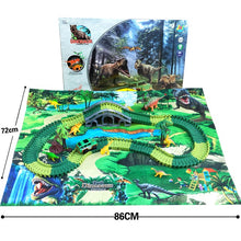 Load image into Gallery viewer, Dino World Track Set with Playmat