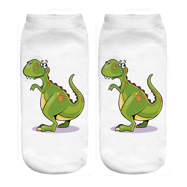Dinosaur Ankle Socks