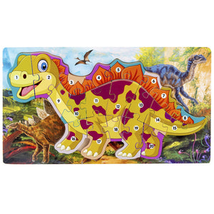 Wooden 3D Dinosaur Educational Puzzle