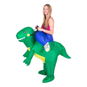 Inflatable Ride-On Walking Dinosaur Costume