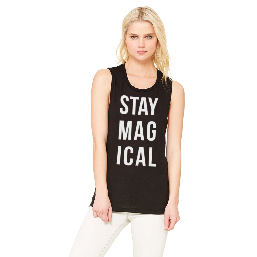 Stay Magical Muscle Tank