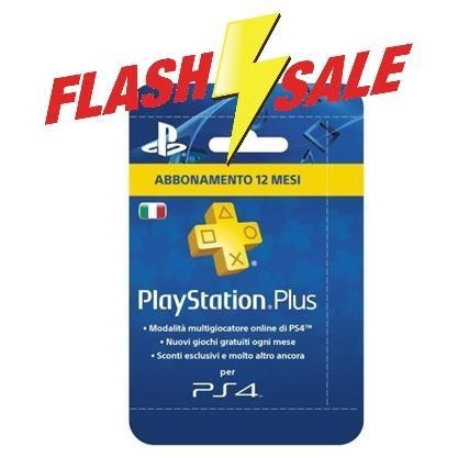 PlayStation Plus - 12 Mesi - Console 66x100
