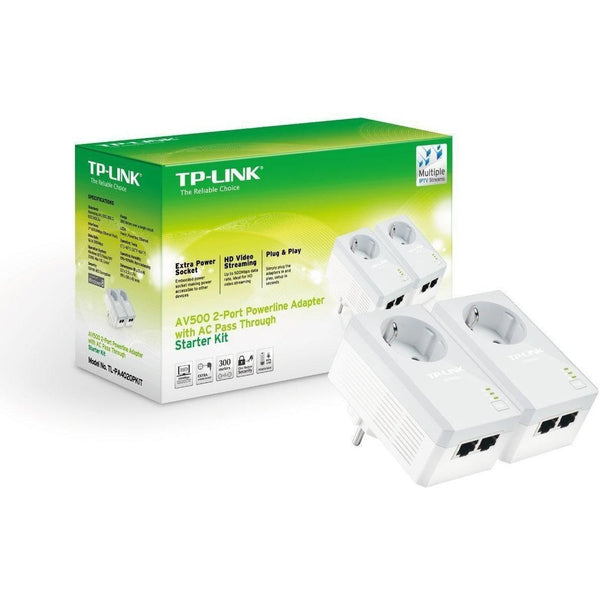 Powerline - TP-LINK TL-PA4020P KIT 2 AV500 - 66x100