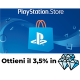 Carta Regalo - Playstation Store - 66x100