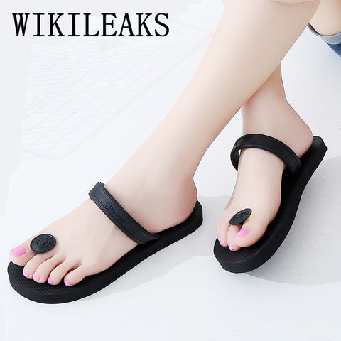 Women Sandals Luxury Brand Slippers Lady Sexy Beach Shoes Flip Flops