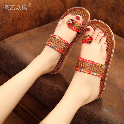 Women Sandals Beach Flip Flops  Ladies Casual Shoes
