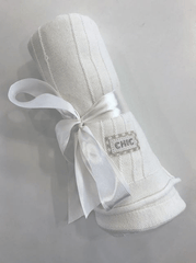 Barbaras Accessoires O/S / Blanc couverture blanche White blanket