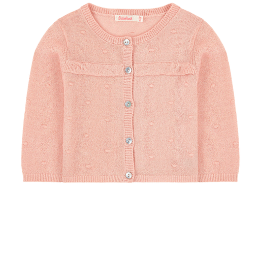 Billieblush Cardigans 3Y / Rose Cardigan rose pâle   Light Pink Cardigan