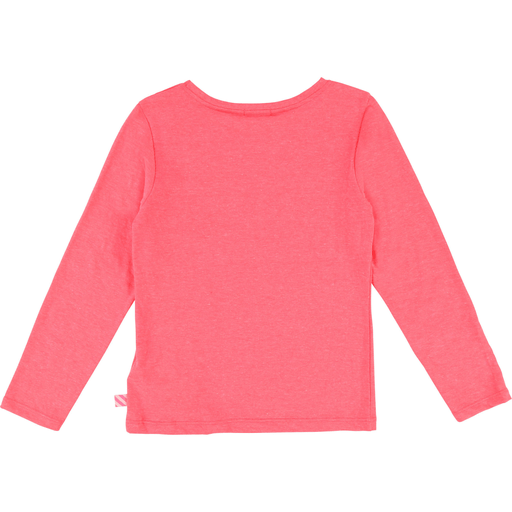 Billieblush Chandails 12Y / Rose T-shirt rose fluo Fluo pink t-shirt