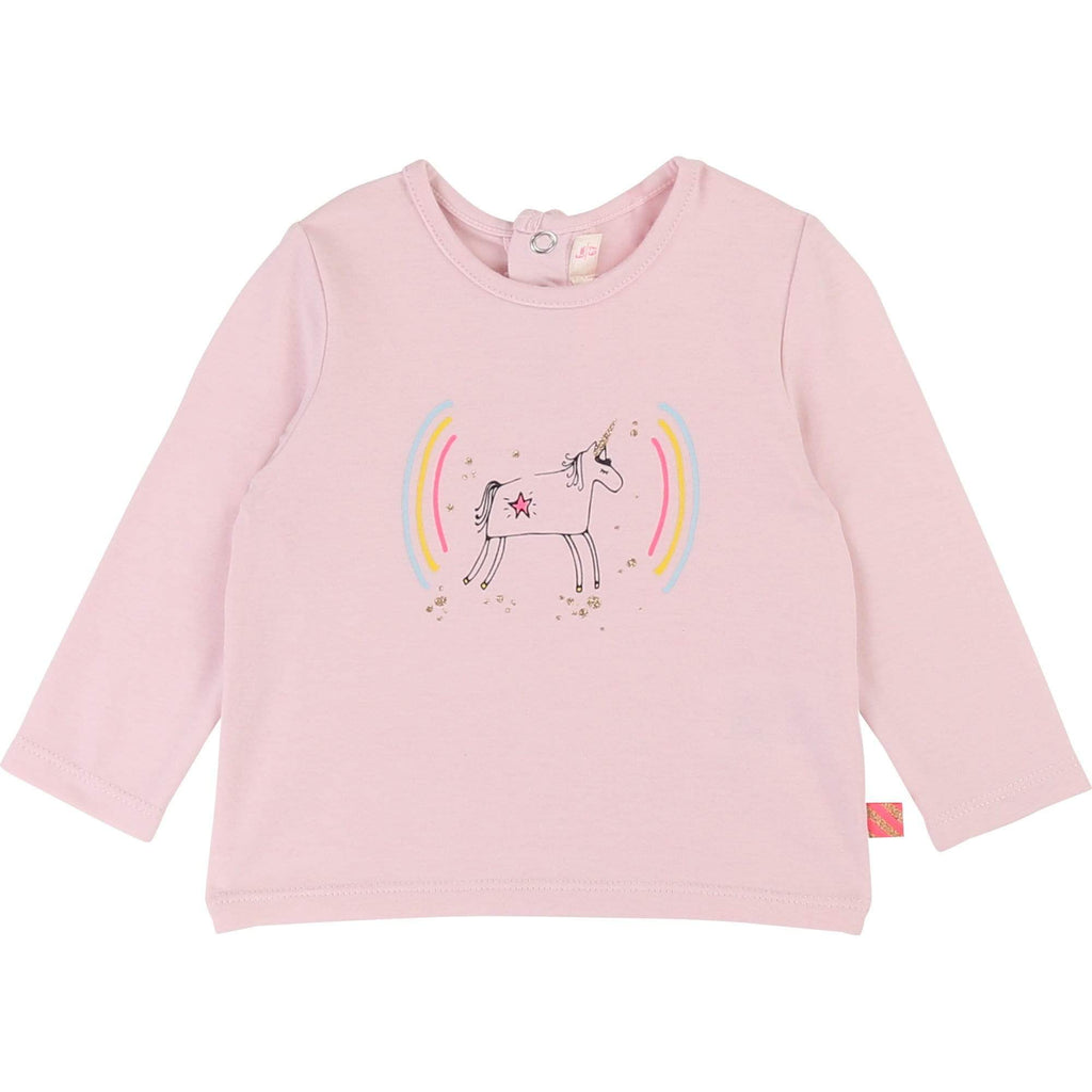Billieblush Chandails 2Y / Rose T-shirt en jersey