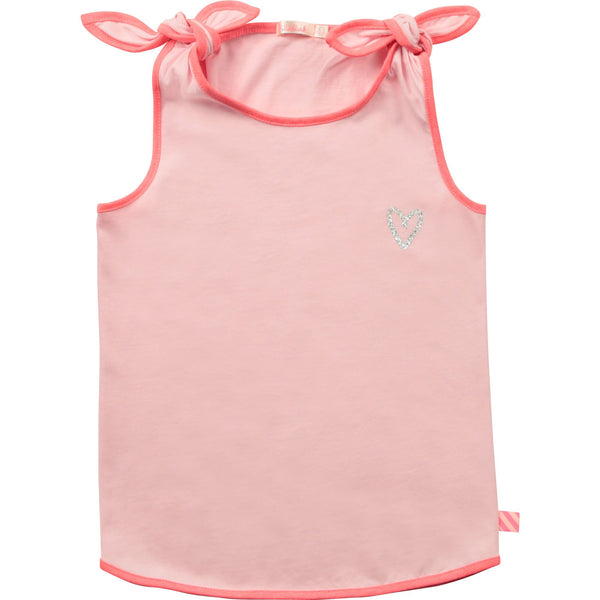 Billieblush Chandails Camisole rose avec boucles Pink tank with bows