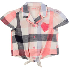 Billieblush Chemises Chemise à carreaux Plaid shirt