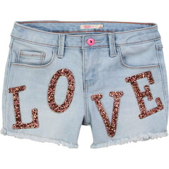 Billieblush Shorts Short en denim bleu Blue denim shorts