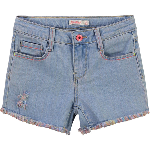 Billieblush Shorts Short en denim coeur Denim heart short