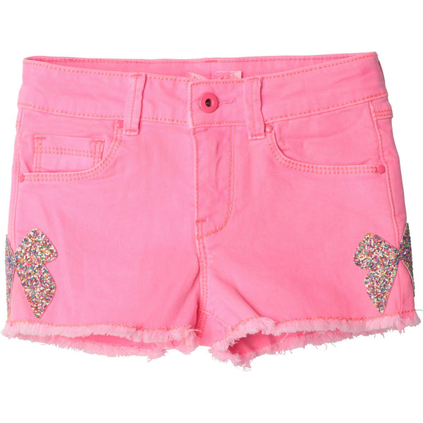 Billieblush Shorts Short robe avec boucle Pink short with bows
