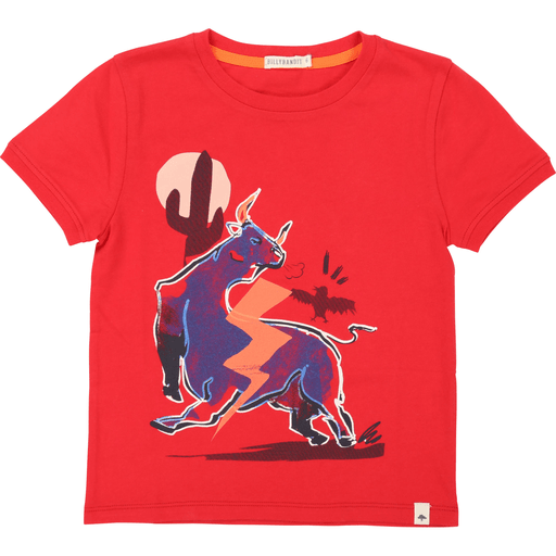 BillyBandit Chandails 2Y / Orange T-shirt taureau - Taurus t-shirt