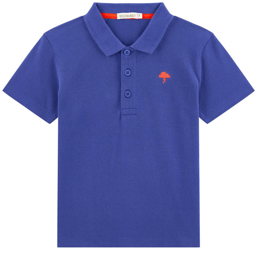 BillyBandit Chemises 12Y / Bleu Polo bleu royal   Blue Polo Shirt