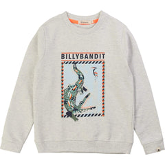 BillyBandit Pulls Sweat Crocodile Sweatshirt