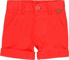 Bermudas rouges Red bermuda shorts