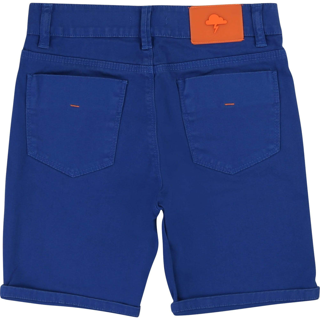 Boutique Lollipop Bleu / 4Y Short bleu Blue shorts