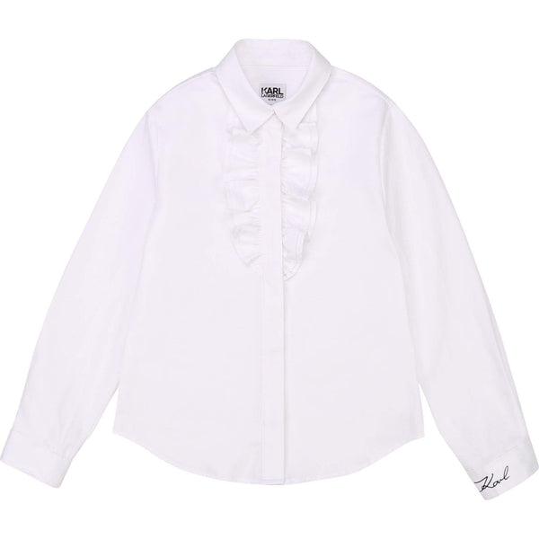 Boutique Lollipop Chemise Blanche Karl White Karl Blouse
