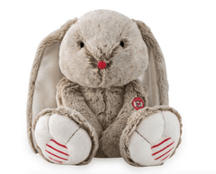Lapin beige de la collection Rouge coeur de Kaloo. - Beige rabbit from the collection Rouge coeur o