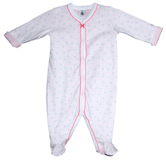 Boutique Lollipop Pyjama jersey double face - Double-sided jersey sleepsuit