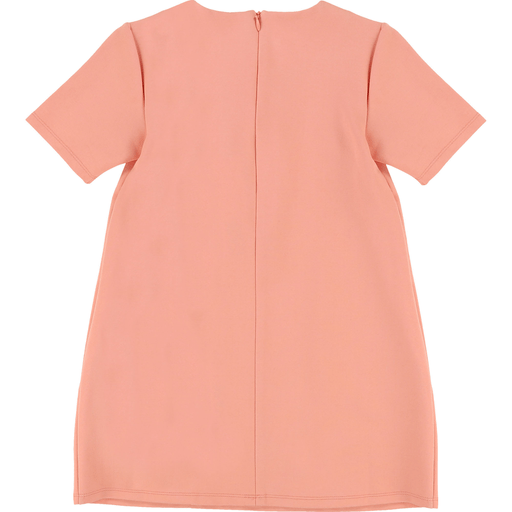 Boutique Lollipop Robe rose à manches courtes - Pink short sleeves dress