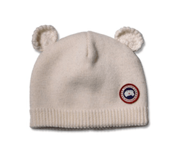 Canada Goose Accessoires O/S / Blanc Chapeau ourson  Baby cub hat