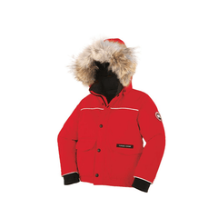 Canada Goose Manteaux 6Y / Rouge Parka lynx rouge Red lynx parka