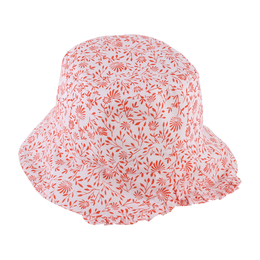 Chapeau imprimé de fleurs All-over printed hat - Boutique Lollipop