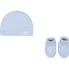 Carrément Beau Bonnets Ensemble bonnet et chausson Hat and bootie set