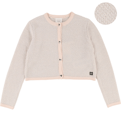 Carrément Beau Cardigans 12Y / Rose Cardigan tricot Knitted cardigan