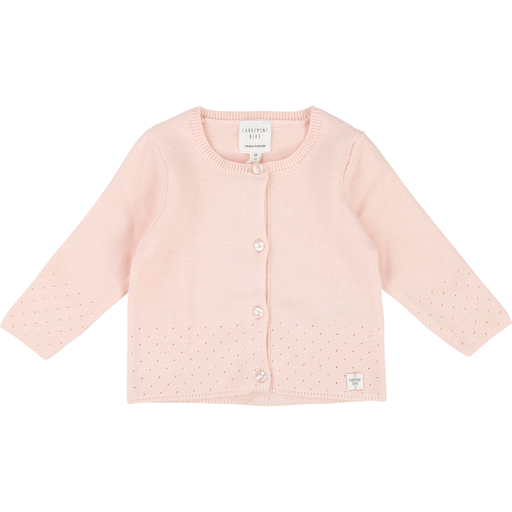 Carrément Beau Cardigans 2Y / Rose Cardigan rose pale Light pink cardigan