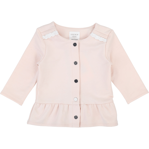 Carrément Beau Cardigans 3Y / Rose Cardigan rose pale Cute pink cardigan