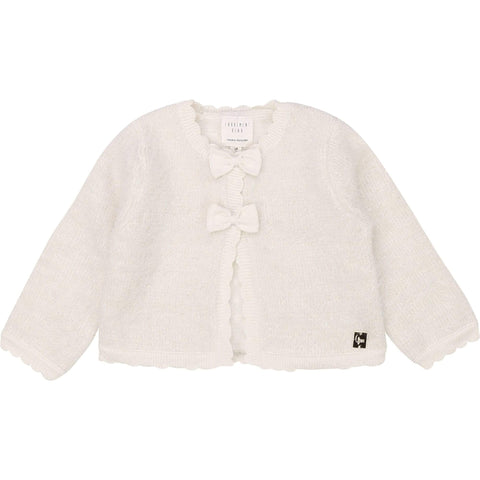 Bébé fillette cardigan