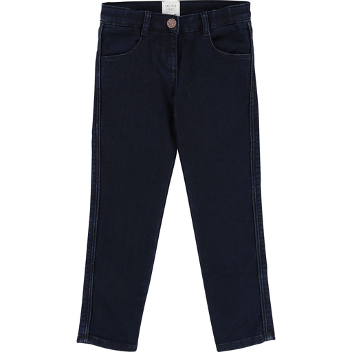 Carrément Beau Pantalons 12Y / Bleu Pantalon denim bleu indigo Indogo blue denim pants