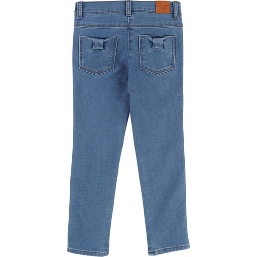 Carrément Beau Pantalons 12Y / Bleu Pantalon denim bleu pâle Light blue denim pants