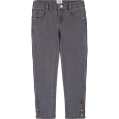 Carrément Beau Pantalons Pantalon de denim Gris Gray denim pants
