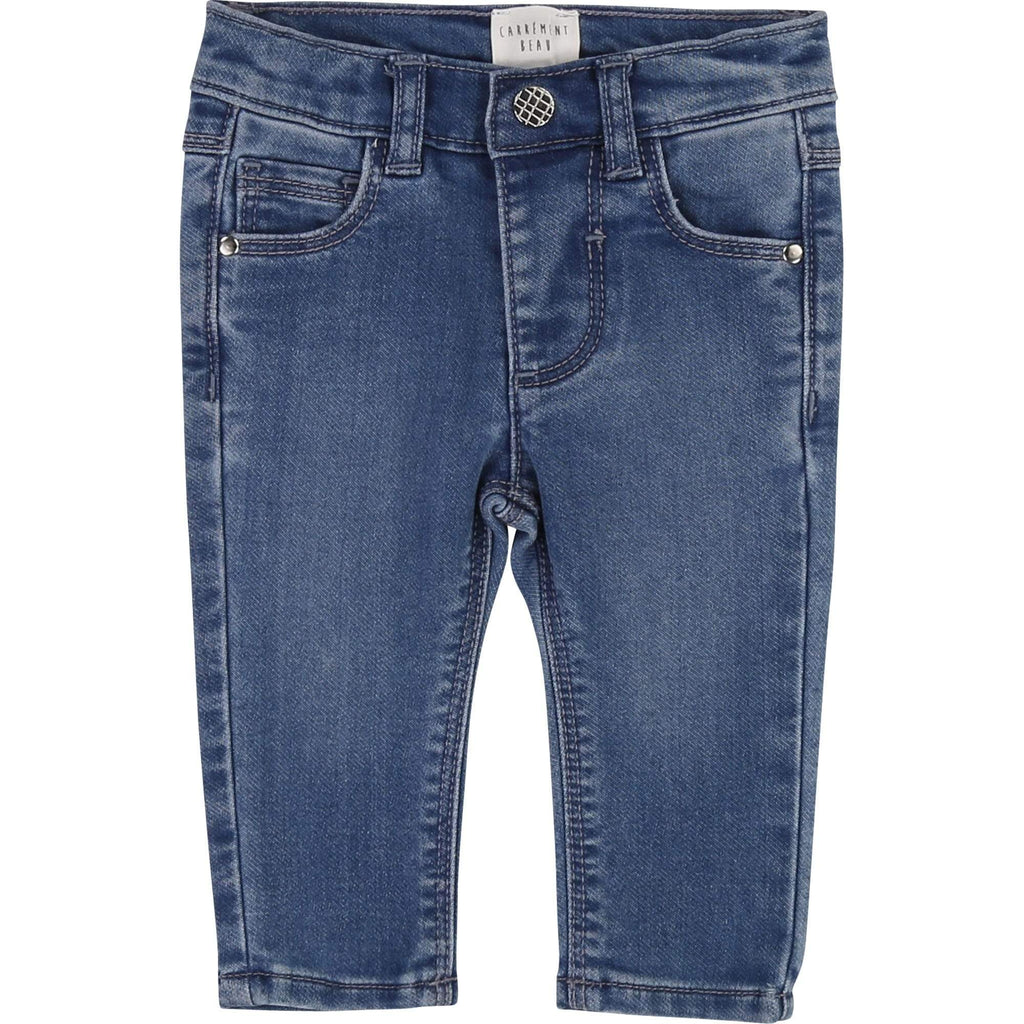 Carrément Beau Pantalons Pantalon en denim maille stretch