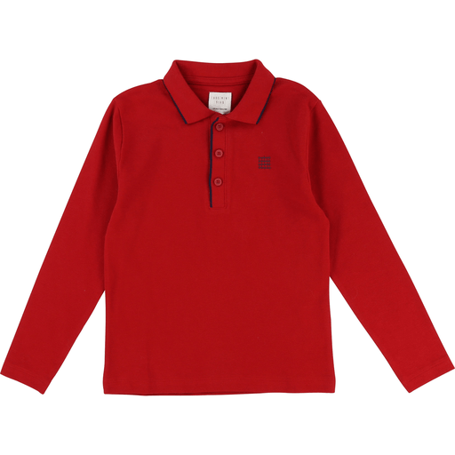 Carrément Beau Polos 2Y / rouge Polo rouge - Red polo