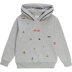 Carrément Beau Pulls Sweat à capuche Hooded sweatshirt