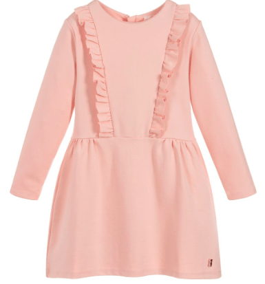 Carrément Beau Robes 12Y / Rose Robe rose pâle Pink powder dress