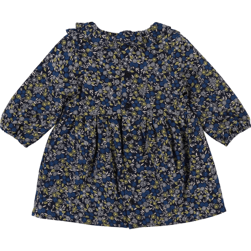 Carrément Beau Robes 3Y / Bleu Robe fleurie Flower printed dress
