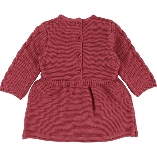 Carrément Beau Robes 3Y / Rose Robe framboise en tricot Raspberry knitted dress