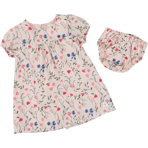 Carrément Beau Robes 3Y / Rose Robe imprimée floral Floral printed dress