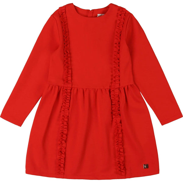 Carrément Beau Robes Robe en Milano rouge Red milano dress