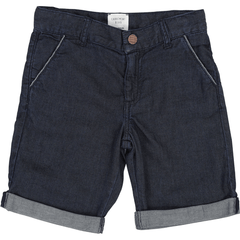 Carrément Beau Shorts 12Y / Bleu Bermudas bleu foncés denim Dark denim blue shorts